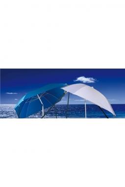Boot Sonnenschirm weiss mit Gelenk