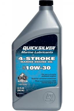 Mercury/Quicksilver 4-Stroke Marine Motorenöl 10W30