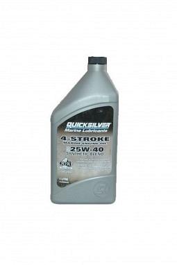 Mercury/Quicksilver 4-Stroke Marine Motorenöl 25W40 Synthetic Blend